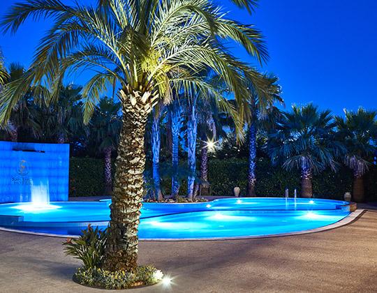 vista piscina san luca hotel